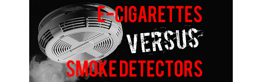 Ecigs can activate smoke detectors