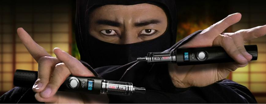 Stealth vape for ninja vaping
