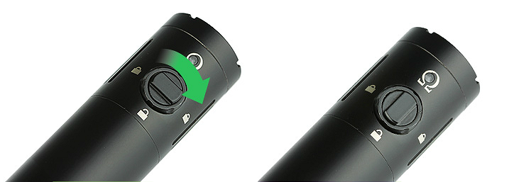 BATTERY - Vision Deus 65W Sub Ohm 18650 ( Black )