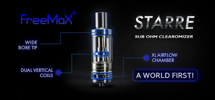 ATOMIZER - Freemax Starre Sub Ohm Clearomizer