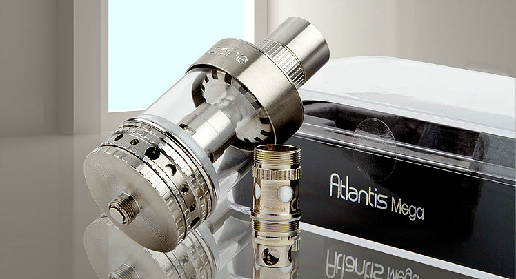 ATOMIZER - ASPIRE Atlantis Mega Sub Ohm Clearomizer