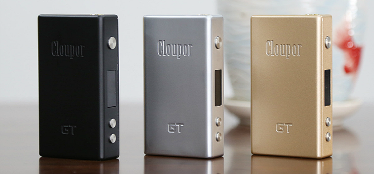KIT - Cloupor GT 80W TC ( Black )