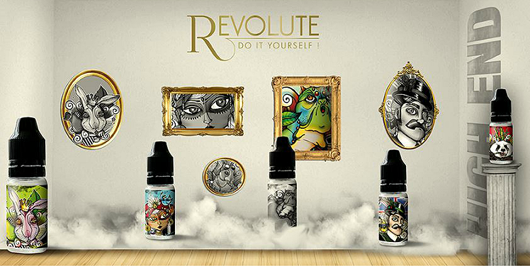 D.I.Y. - 10ml Revolute High-End ABSOLUM eLiquid Flavor by Nicoflash