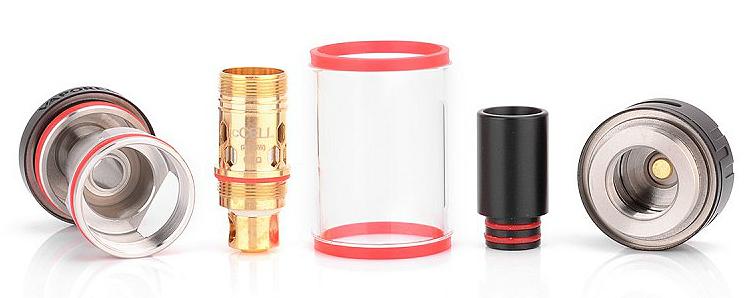 ATOMIZER - VAPORESSO Target cCell No-Wick Ceramic Coil Atomizer (White)