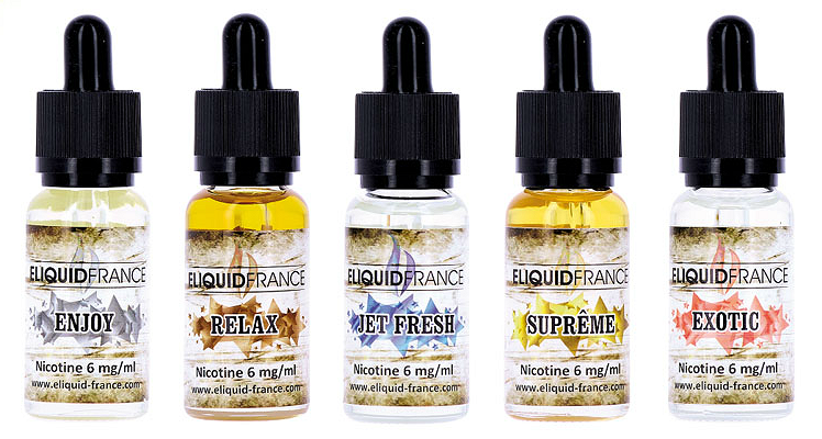20ml RELAX 6mg eLiquid (With Nicotine, Low) - eLiquid by Eliquid France