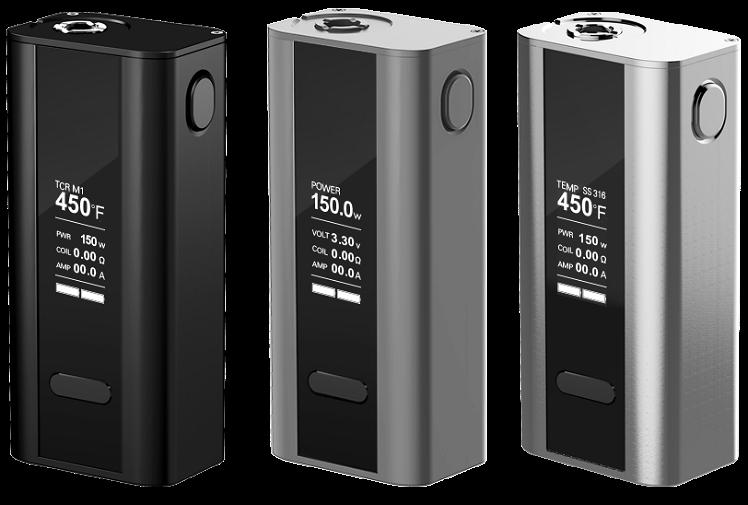 KIT - Joyetech CUBOID 150W - 200W TCR Box Mod ( Silver )