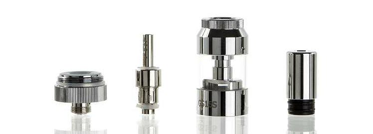 ATOMIZER - Eleaf GS16S BDC Clearomizer ( Stainless )