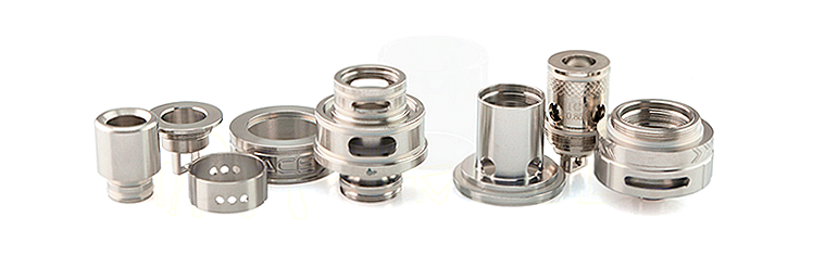 ATOMIZER - OBS Ace Ceramic Coil Sub Ohm Tank Atomizer ( Stainless )