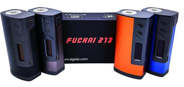 KIT - Sigelei FUCHAI 213W TC Box Mod ( Black )