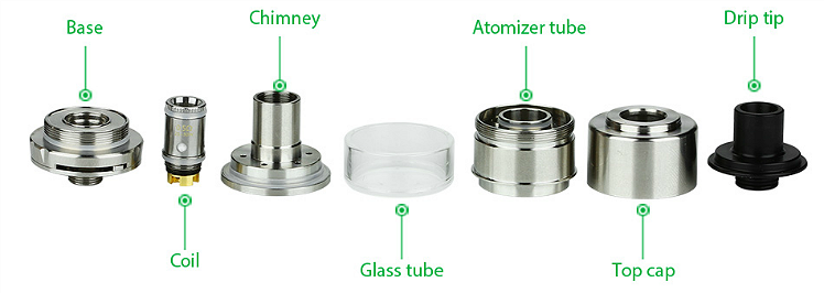 ATOMIZER - UD Mesmer GL ( Stainless )