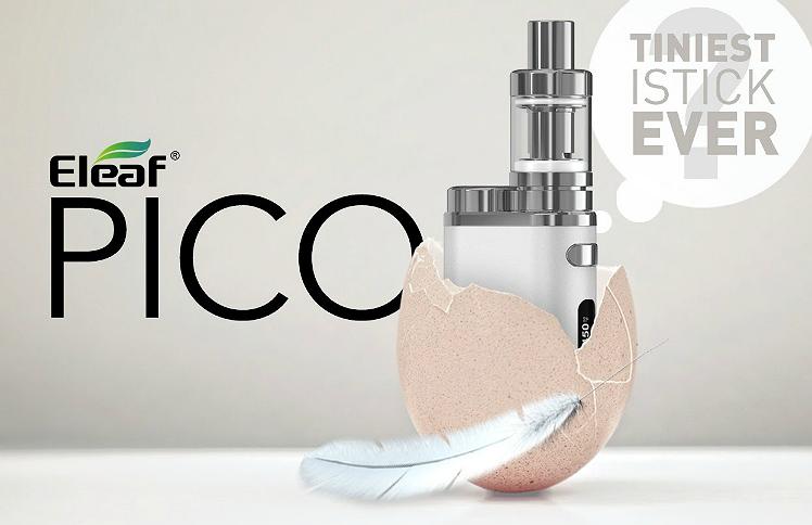 KIT - Eleaf iStick Pico 75W TC Full Kit ( Silver )