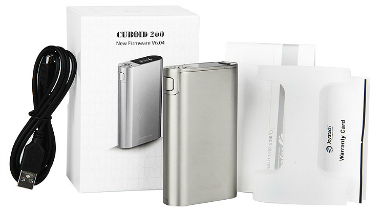 BATTERY - Joyetech CUBOID 200W TC ( Silver )