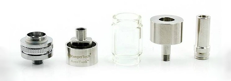 ATOMIZER - KANGER Aerotank BCC Clearomizer - 2.4ML Capacity - 100% Authentic