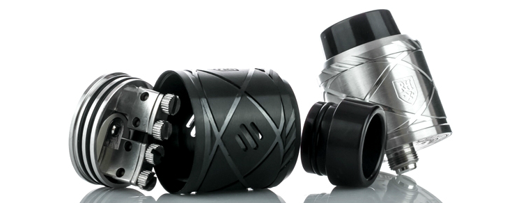 ATOMIZER - COUNCIL OF VAPOR Royal Hunter X ( Black )