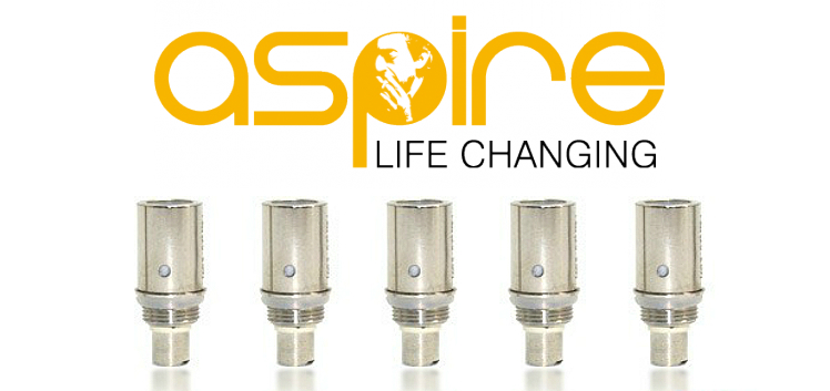 ATOMIZER - 5x BDC Atomizer Heads for ASPIRE CE5 & CE5-S ( 2.1 ohms ) - 100% Authentic