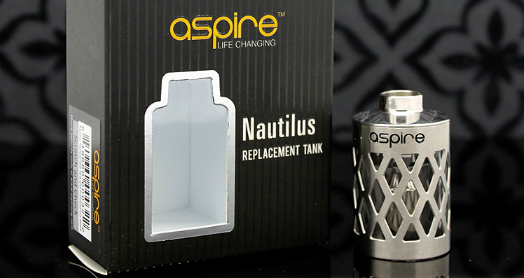 ATOMIZER - ASPIRE Nautilus Assy Hollow Core Caged Glass Tank ( Steel Cage ) - 5ML Capacity - 100% Authentic