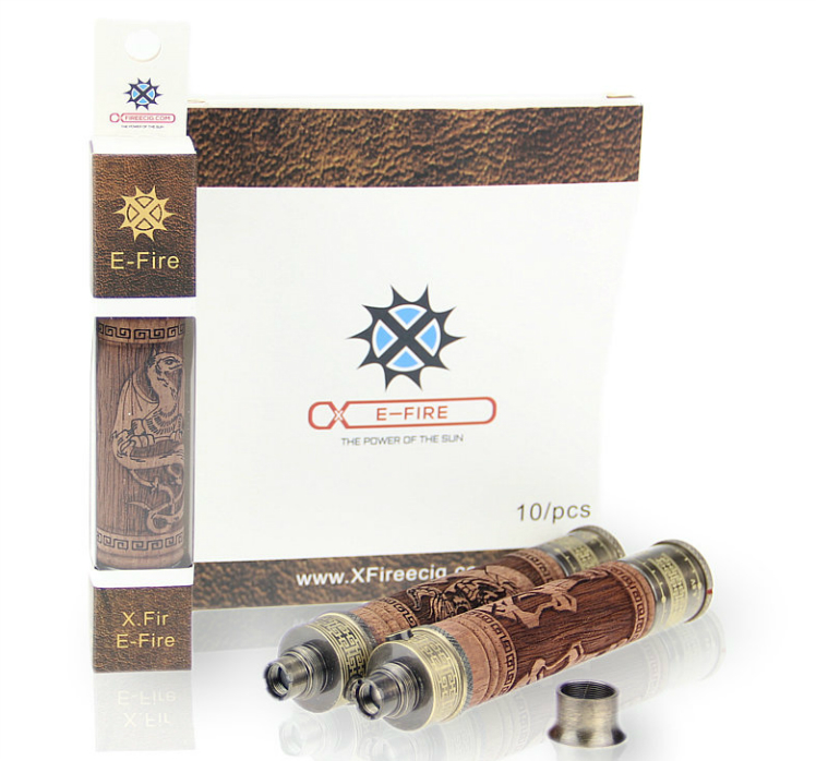BATTERY - VISION X.Fire E-Fire 1000mA VV Wooden Battery ( Pirate Skull Design ) - 100% Authentic