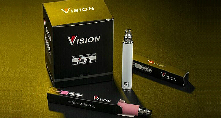 BATTERY - VISION Spinner Upgrade 1300mA VV - 100% Authentic ( Black )