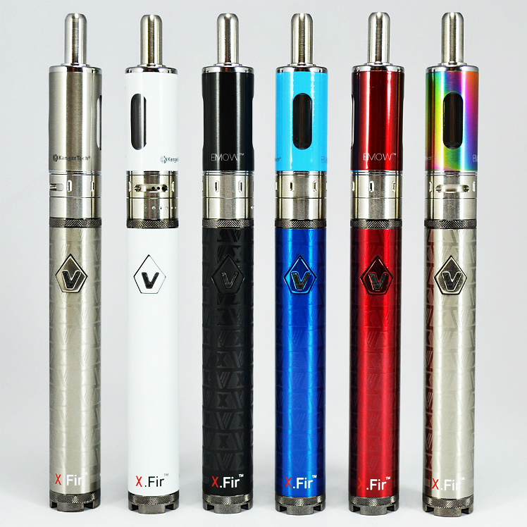 KIT - Kanger Aerotank Mow & Vision X.Fir Spinner 2 Mini ( 850mA Variable Voltage & Airflow APV Kit - Blue )