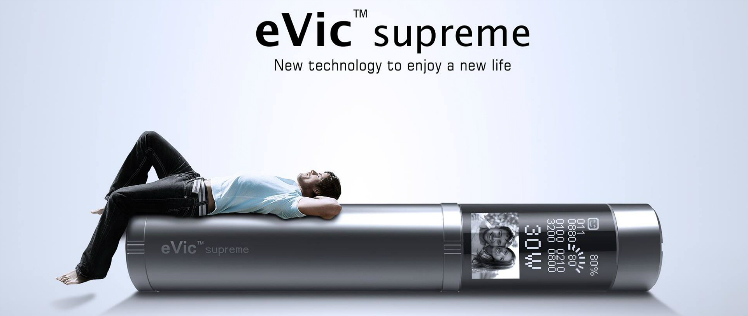 KIT - JOYETECH eVic Supreme 18650 2100mA ( 3-6V / 30W ) - Black