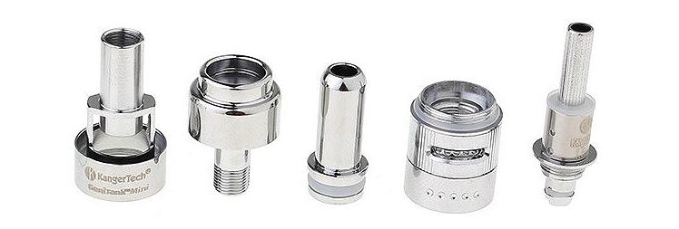 ATOMIZER - KANGER Genitank Mini BDC Clearomizer - 1.3ML Capacity - 100% Authentic