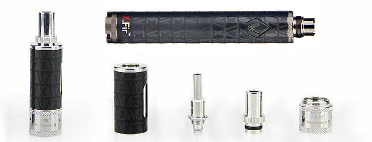 KIT - VISION / VAPROS Spinner 2 (II) Mini 850mA VV BDC Kit ( 3.3V - 4.8V ) - 100% Authentic ( Black )