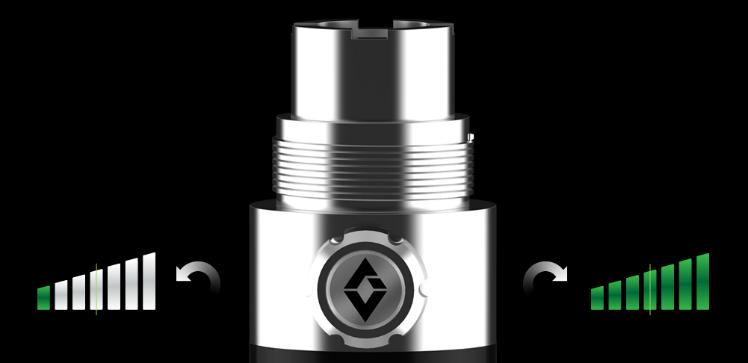 VAPING ACCESSORIES - Artisan eGo Battery Booster 3.3V - 4.7V ( Stainless )