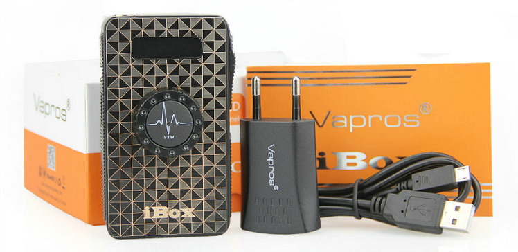 KIT - Vapros iBOX 25W - 1500mA VV/VW Sub Ohm ( Black )