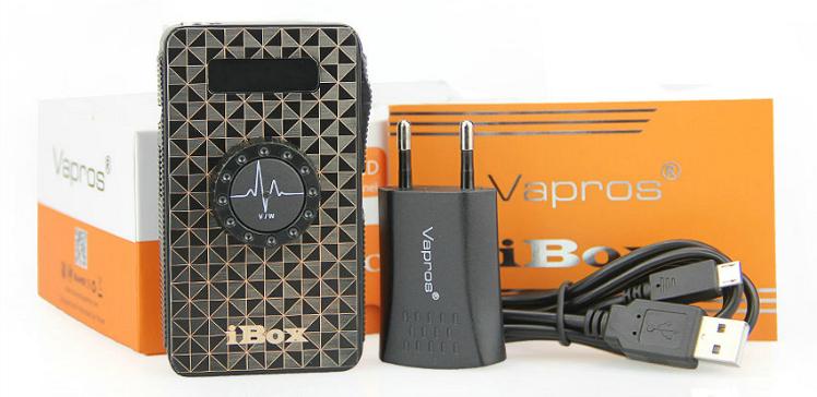 KIT - Vapros iBOX 25W - 1500mA VV/VW Sub Ohm ( Black )