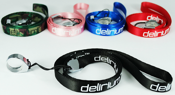 VAPING ACCESSORIES - delirium Lanyard ( Blue )