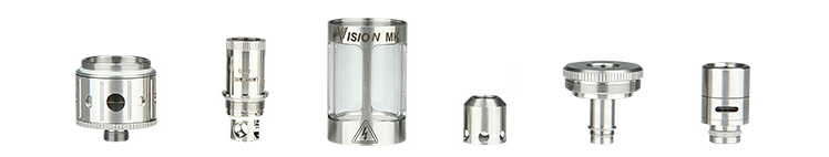 ATOMIZER - Vision MK Sub Ohm Clearomizer