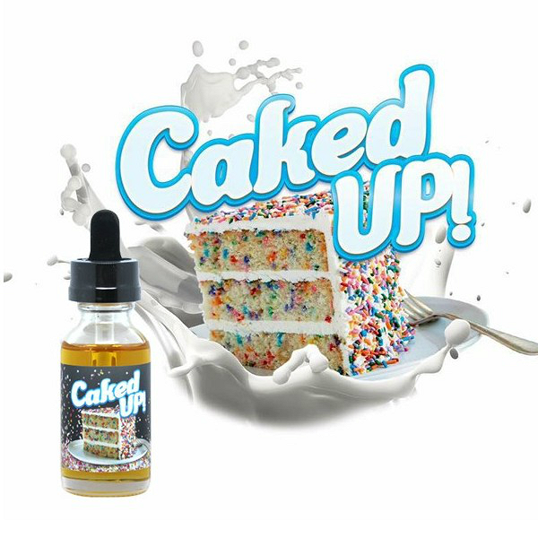 30ml Caked Up 6mg Max Vg Eliquid With Nicotine Low