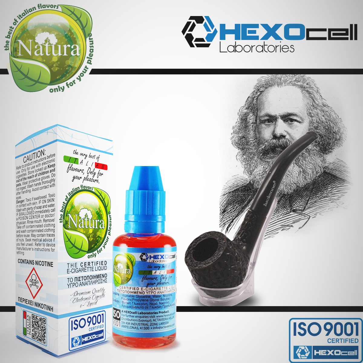 e6b05354c472ac 30ml MARXBRO 0mg eLiquid (Without Nicotine) - Natura eLiquid by HEXOcell  image 1 ...