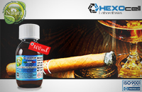 100ml CIGAR PASSION 18mg eLiquid (With Nicotine, Strong) - Natura eLiquid by HEXOcell image 1