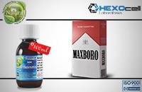 100ml MAXBORO 9mg eLiquid (With Nicotine, Medium) - Natura eLiquid by HEXOcell image 1