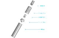 KIT - Joyetech eGo ONE Mini 850mAh Sub Ohm Kit ( Stainless ) image 4