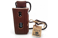 VAPING ACCESSORIES - Argo iStick 50W Leather Carry Case with Lanyard ( Brown ) image 1
