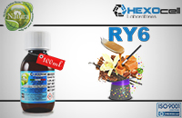 100ml RY6 18mg eLiquid (With Nicotine, Strong) - Natura eLiquid by HEXOcell image 1