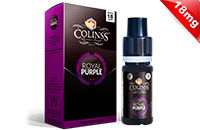 10ml ROYAL PURPLE 18mg eLiquid (New Star, New Batch) - eLiquid by Colins's image 1