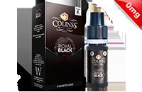 10ml ROYAL BLACK 0mg eLiquid (555 Tobacco) - eLiquid by Colins's image 1