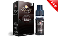 10ml ROYAL BLACK 6mg eLiquid (555 Tobacco) - eLiquid by Colins's image 1