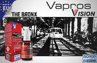 30ml THE BRONX 18mg eLiquid (With Nicotine, Strong) - eLiquid by Vapros/Vision image 1
