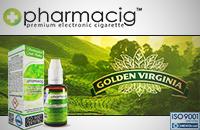 30ml GOLDEN TOBACCO 9mg eLiquid (With Nicotine, Medium) - eLiquid by Pharmacig image 1
