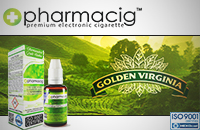 30ml GOLDEN TOBACCO 18mg eLiquid (With Nicotine, Strong) - eLiquid by Pharmacig image 1