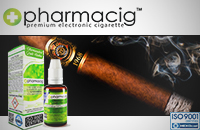 30ml CIGAR TOBACCO 18mg eLiquid (With Nicotine, Strong) - eLiquid by Pharmacig image 1