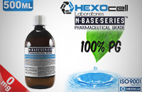 D.I.Y. - 500ml HEXOcell eLiquid Base (100% PG, 0mg/ml Nicotine) image 1
