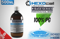 D.I.Y. - 500ml HEXOcell eLiquid Base (100% PG, 8mg/ml Nicotine) image 1