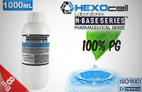 D.I.Y. - 1000ml HEXOcell eLiquid Base (100% PG, 8mg/ml Nicotine) image 1
