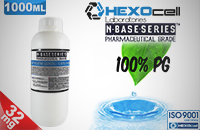 D.I.Y. - 1000ml HEXOcell eLiquid Base (100% PG, 32mg/ml Nicotine) image 1