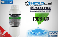 D.I.Y. - 1000ml HEXOcell eLiquid Base (100% VG, 8mg/ml Nicotine) image 1